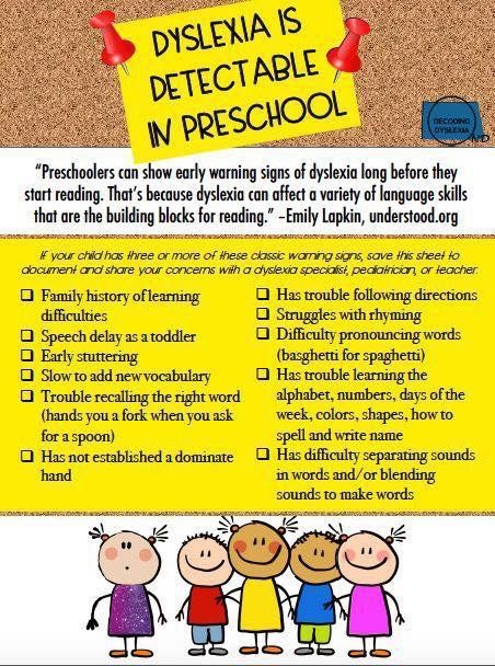 Dyslexia in Young Children - Literacy Solutions